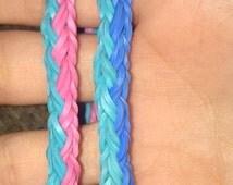 Knotted Braid Rainbow Loom Bracelet