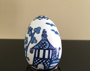 Hand Painted Chinoiserie Decorative Eggs