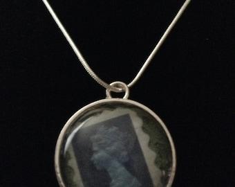 Stamp friendship necklace
