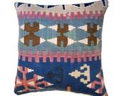 Turkish Kelim Pillow Cover Decorative Kilim Pillows Tribal Pillow Throw Pillows Sofa Couch Pillows Cushion Covers Kelim Kissen