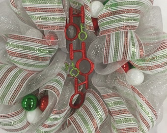 Ho Ho Ho Wreath