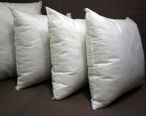 24x24 pillow insert - poly fill pillow insert kilim pillow instert pillow filling AntiAllergic silicone fiber insert orthopedic insert 26x26