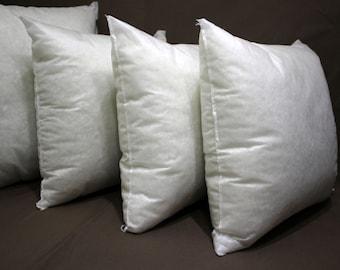 14x14 pillow insert - poly fill pillow insert kilim pillow instert pillow filling AntiAllergic silicone fiber insert orthopedic insert 16x16