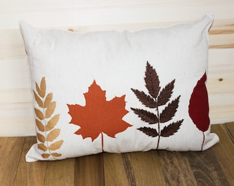 Leaf, Fall Throw Pillow