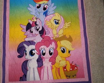My Little Pony Baby Quilt