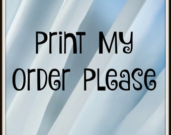 """Printing for 5x7 Invitations ONLY in the """"Robyn's Parties 2 Print"""" Store w/ Free Envelopes!"""