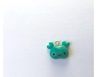 Sea Monster Bean Charm