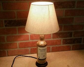 Upcycled Talisker Bottle Lamp