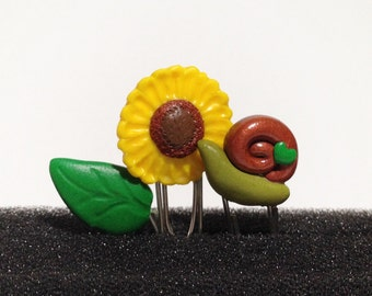 A snail's Story paper clips trio