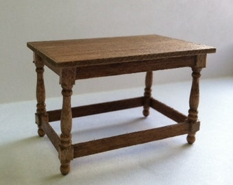 """1/2"""" or 1:24 Scale Miniature Stretcher Table Kit"""