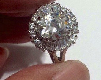Sterling Silver .925 Ring With CZ