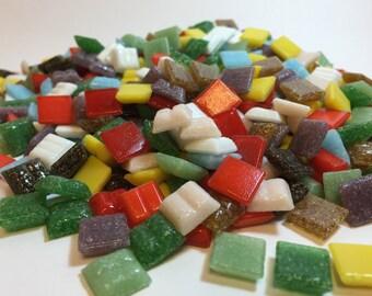 3/8 vitreous glass tile mix