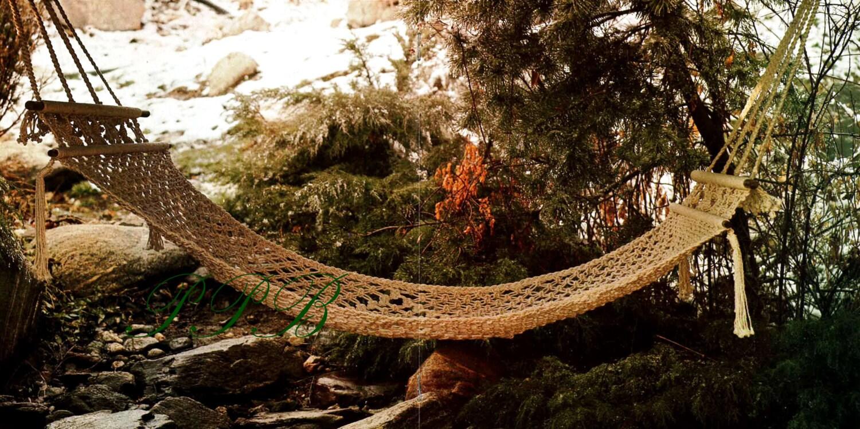 Macrame Hammock Macrame Garden Hammock Home Decor