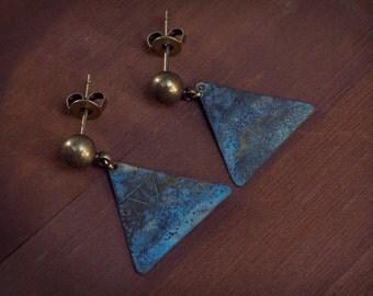 Autumn Earrings, Fall Jewelry, Thanksgiving Earring, Minimalist Earrings, Everyday Earrings