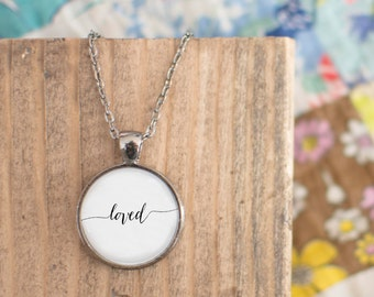 Loved {necklace}