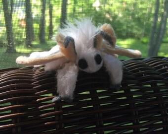 Bendy Cute Moth Plush Toy Friend!