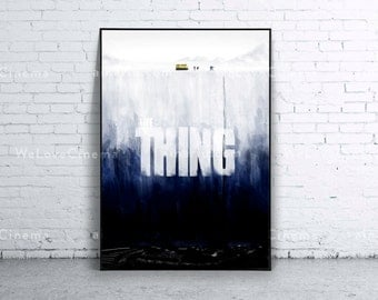 The Thing Movie Poster Print. 70x100cm. B1 size. Art Print. Original decoration Wall Design