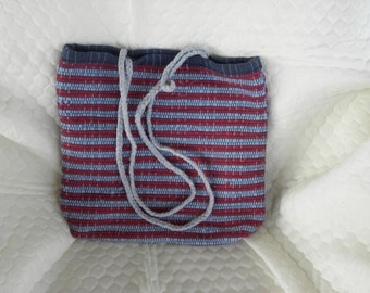Hand woven bag 15w x 12 h x 3.5 deep