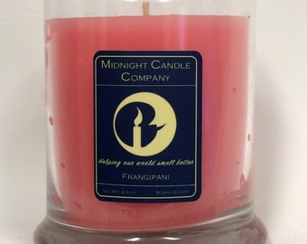 Frangipani Scented Candle, 75 Hour Burn Time