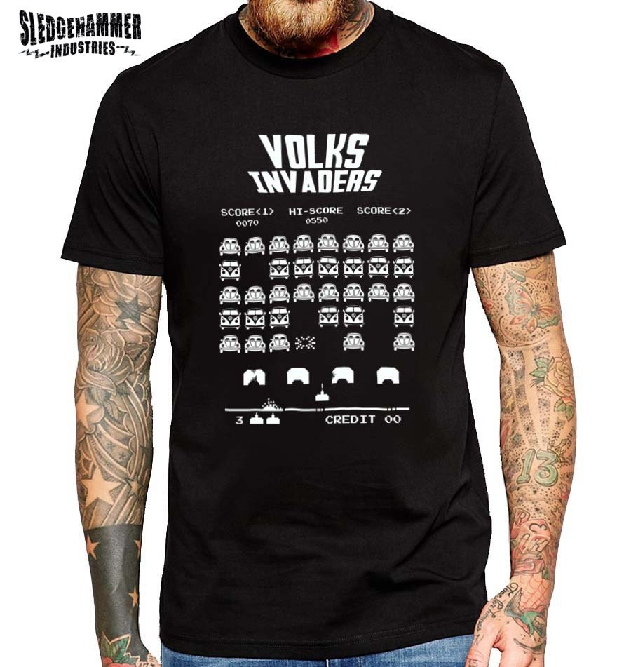 Volks Invaders Volkswagen T Shirt Mens T By