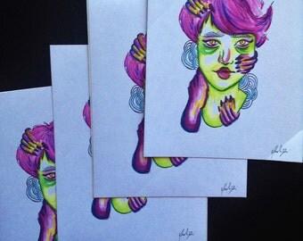 Zombie Princess (Sticker)