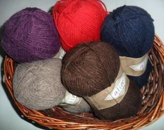 Alpaca yarn, Alpaca Royal, wool yarn, alpaca wool, yarn for knitting, yarn for sale, 24 colours