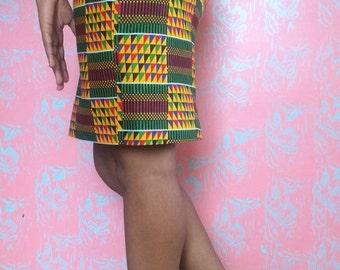 Kente looking skirt
