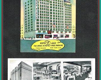 3 Vintage New York Postcards