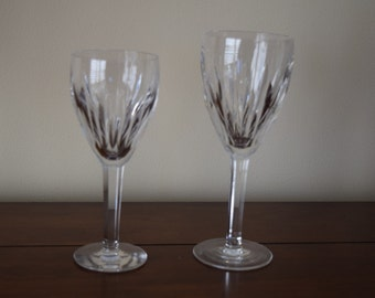 Carina Claret and Carina Goblet by Waterford Crystal
