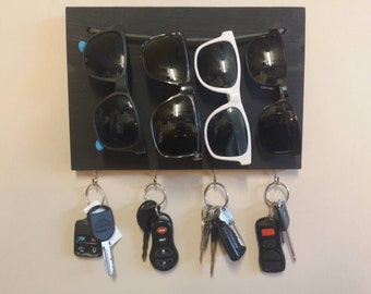 Key & Sunglass Holder