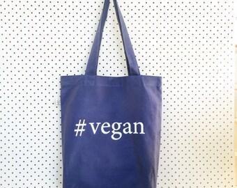Organic Cotton #vegan Tote Bag