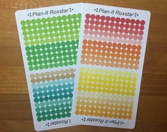 Rainbow task dots