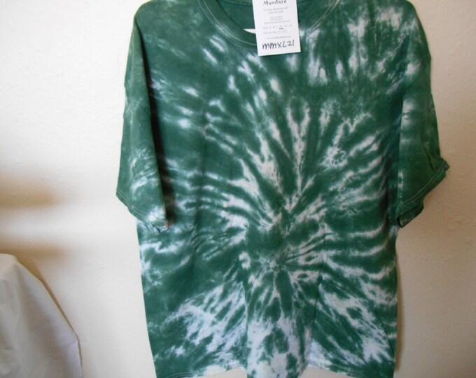 100% cotton Tie Dye T-shirt MMXL21 size XL