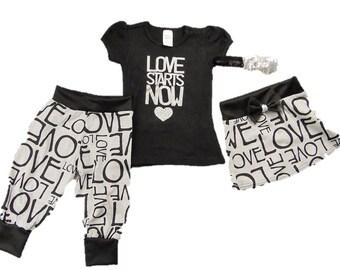 Baby Girl's Love shirt