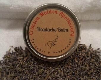 Lavender and Peppermint Headache Balm/Rub