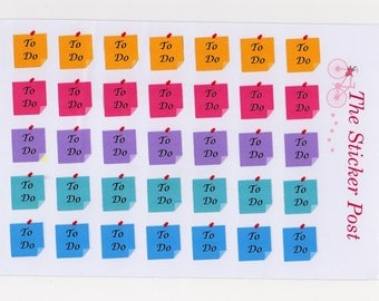"""Sticky Note """"TO DO"""" 