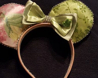 Princess and the Frog  Disney Inspired Ears