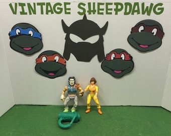 Casey Jones and April lot TMNT