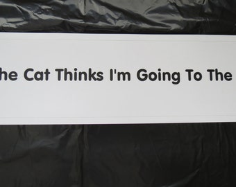 Bumper Sticker (Shipping included)