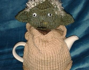 Star Wars Yoda Knitted Tea Cosy
