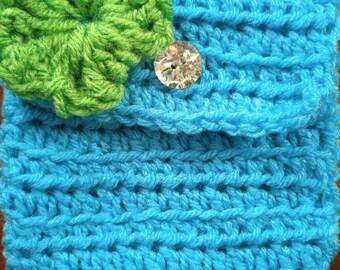7x7 Crochet Pouch/ Handbag/ Purse