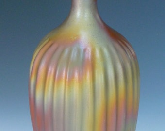 Bottle Clay Fluted
