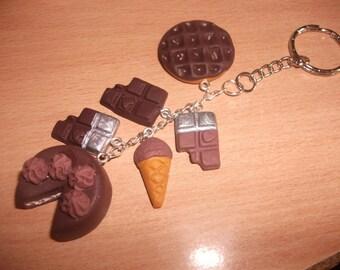 Keyring gourmet chocolate