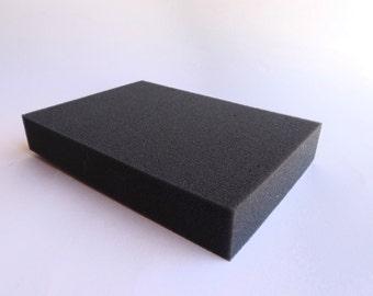 Foam rubber pad for needle felting