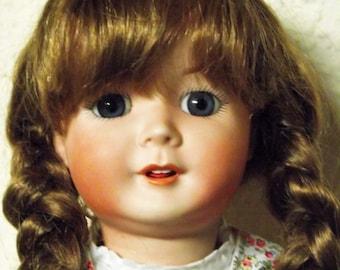 "Antik Repro doll of ""Otto Gräfenhahn"" ca 48 cm"
