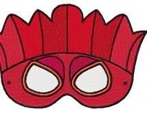 Mask Tiki 02 Embroidery Design Sizes (4*4-100*100)(5*7-130*180) PES,JEF,HUS... etc