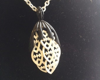 1970's pendent necklace