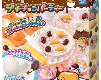 Gudetama Chocolate Mold Kit -- Petit Choco Party - Takara Tomy