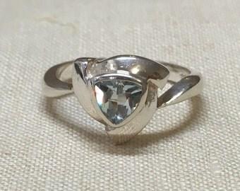 Topaz 925 silver ring