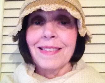 1920's style crochet cloche 10